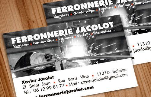 Ferronnerie Jacolot Cartes De Visite